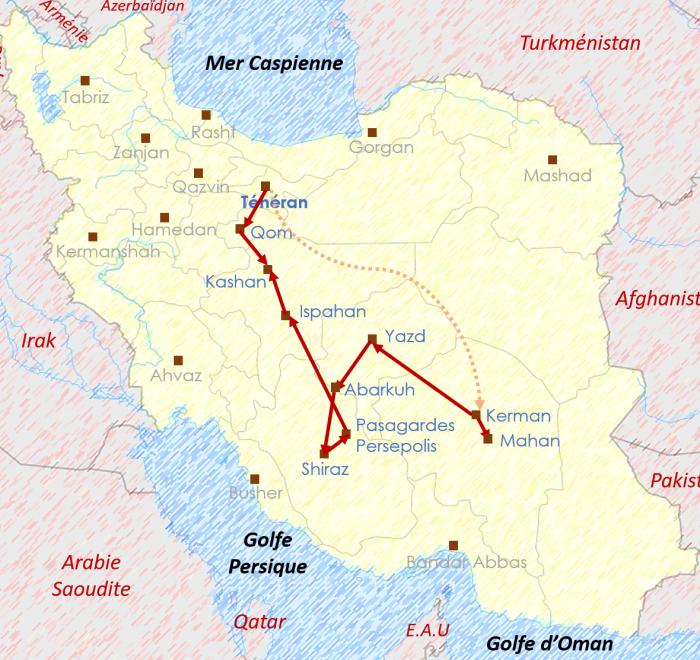 Les trésors de la Perse
